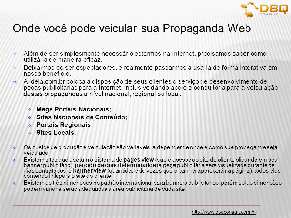 http://www.dbqconsult.com.br Pesquisa de Opinião Pública via Internet.