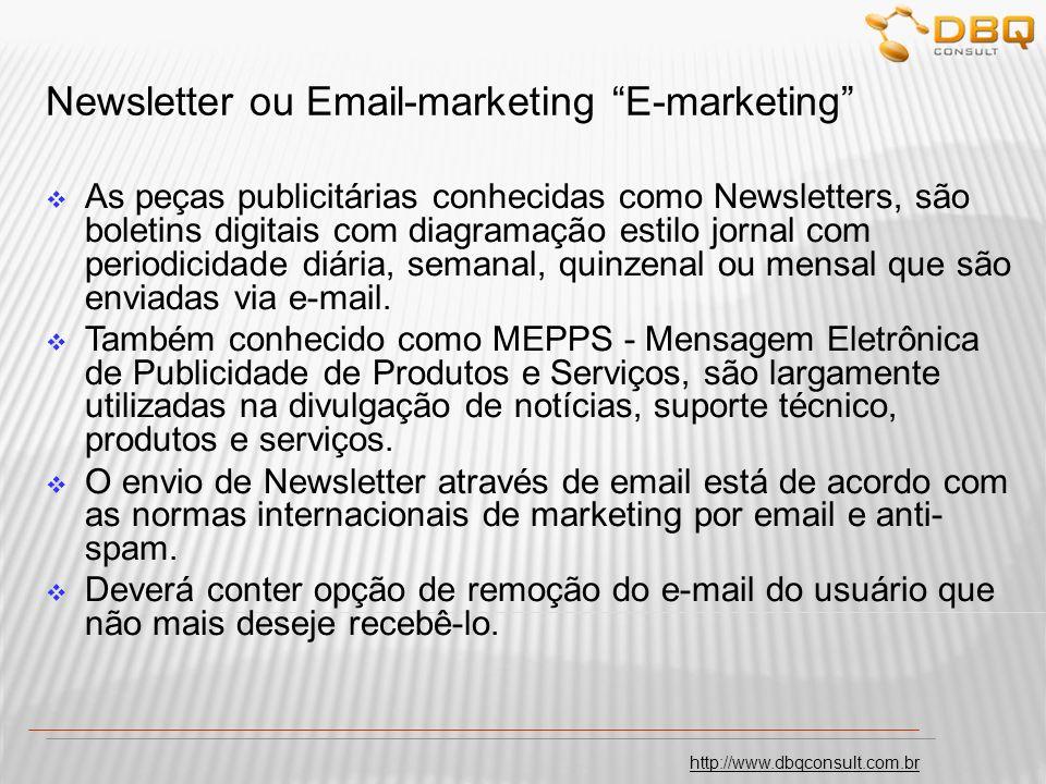 http://www.dbqconsult.com.br Vantagens de se anunciar na Internet.