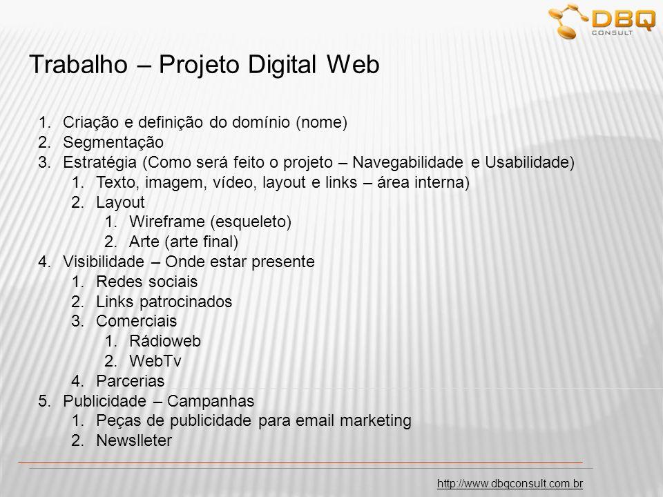 http://www.dbqconsult.com.br Dalton Quadros daltonquadros@dbqconsult.com.br Marketing Digital E-Commerce Aulas 3 - 4