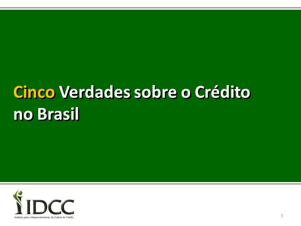 Cinco Verdades sobre o Crédito no Brasil 3