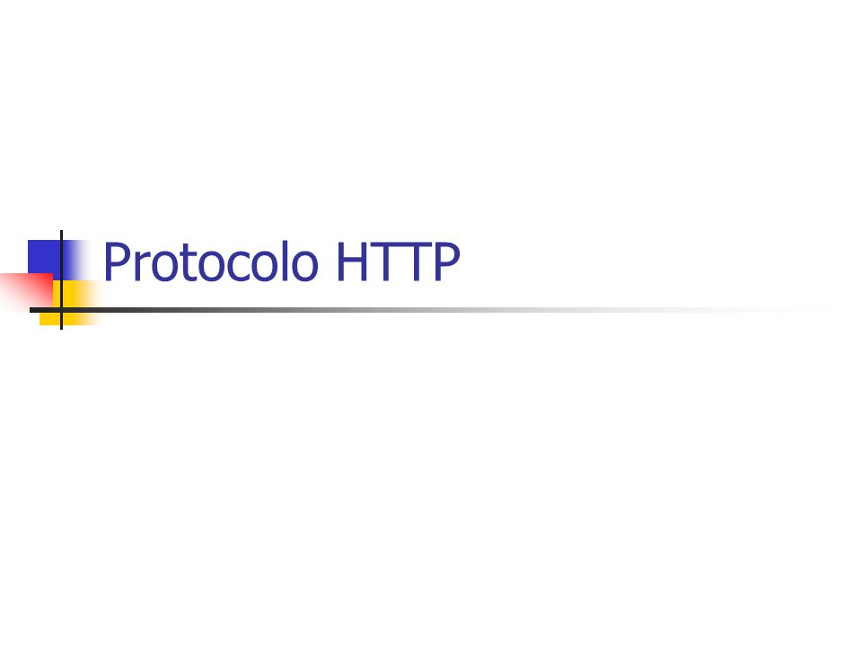 Let us start with this quote from the HTTP specification document [2]: The HTTP protocol is based on a request /response paradigm.