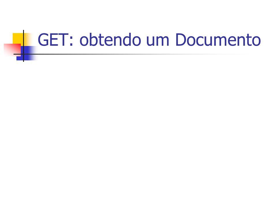 GET: obtendo um Documento