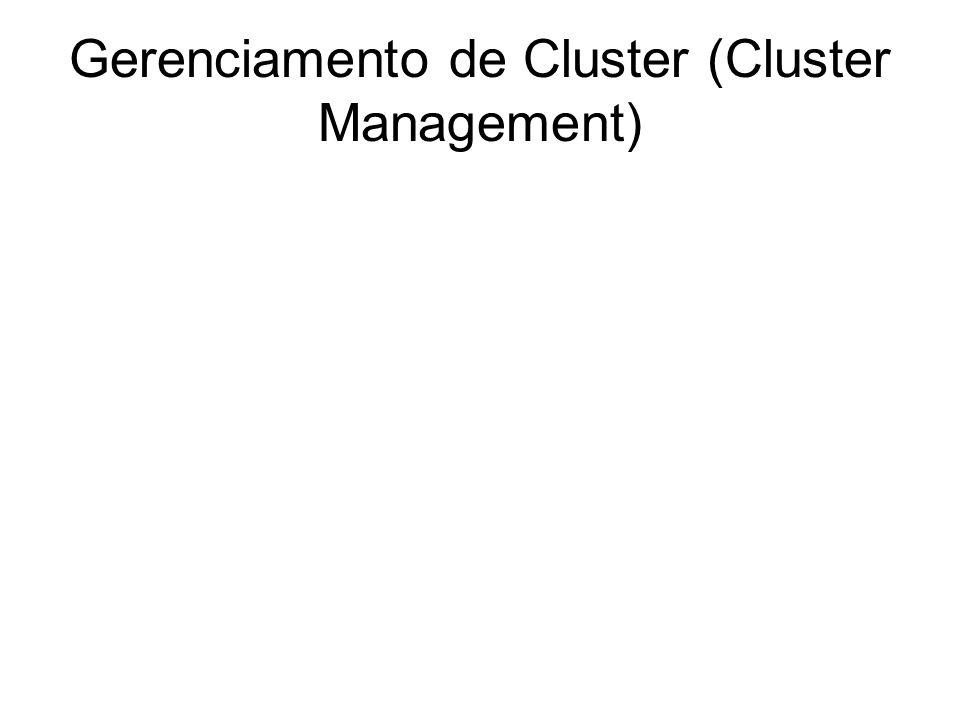 Gerenciamento de Trava (Lock Management) DLM (Distributed Lock Manager) ou Gerenciamento de Lock (travas) Distribuído
