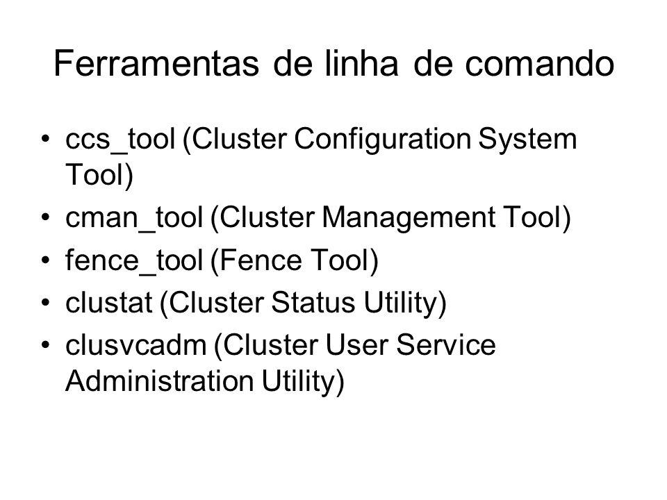 10 – Linux Virtual Server Administration GUI 10.1 – Control/Monitoring 10.2 – Global Settings 10.3 – Redundancy 10.4 Virtual Servers –SubSeção Virtual Server –SubSeção Real Server –SubSeção Edit Monitoring Scripts