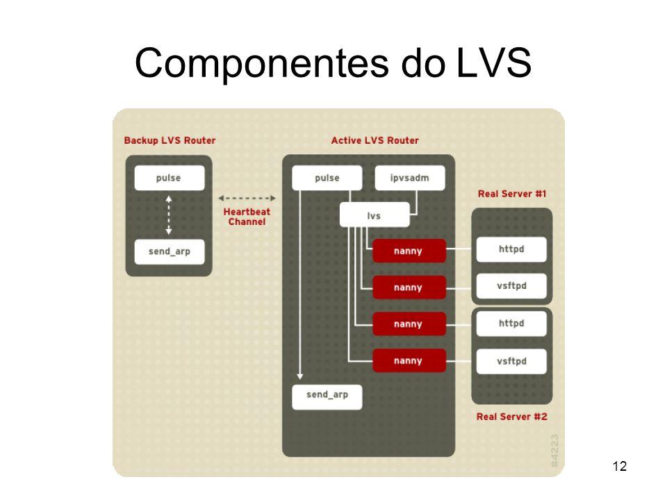 12 Componentes do LVS