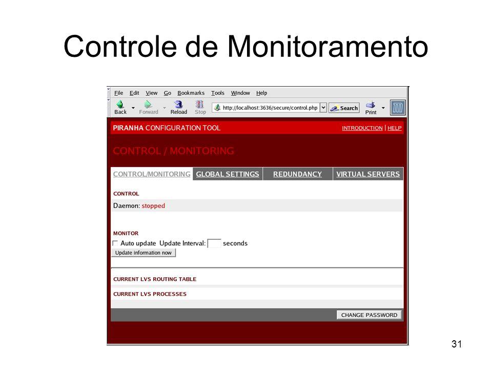31 Controle de Monitoramento