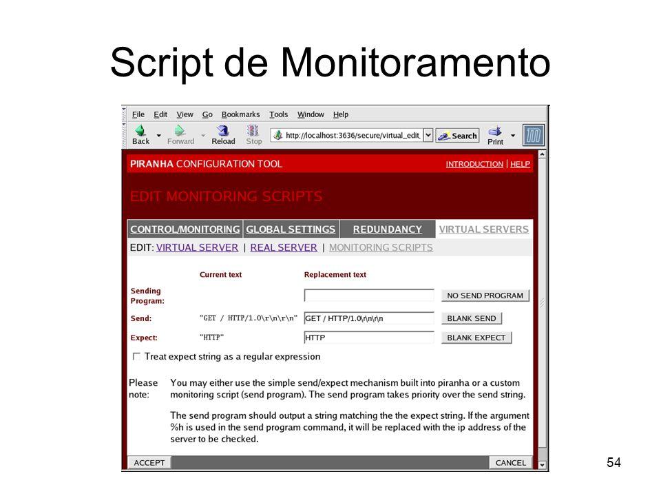 54 Script de Monitoramento