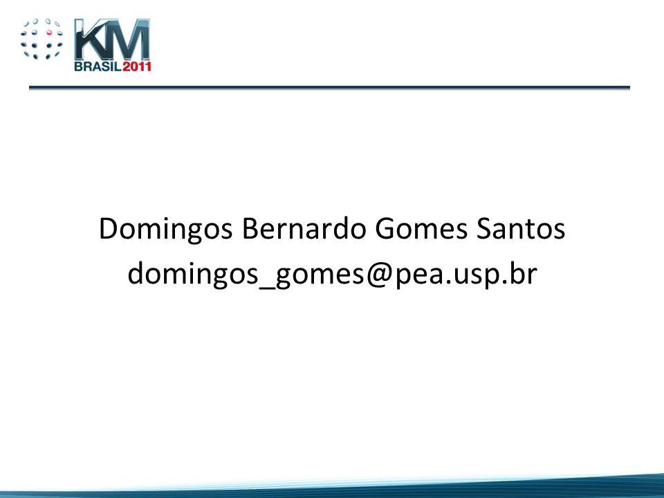 Domingos Bernardo Gomes Santos domingos_gomes@pea.usp.br