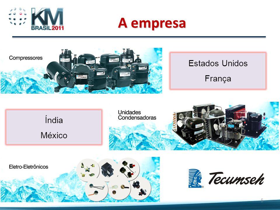 A empresa 5 Estados Unidos França Índia México