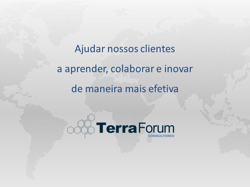 Ajudar nossos clientes a aprender, colaborar e inovar de maneira mais efetiva