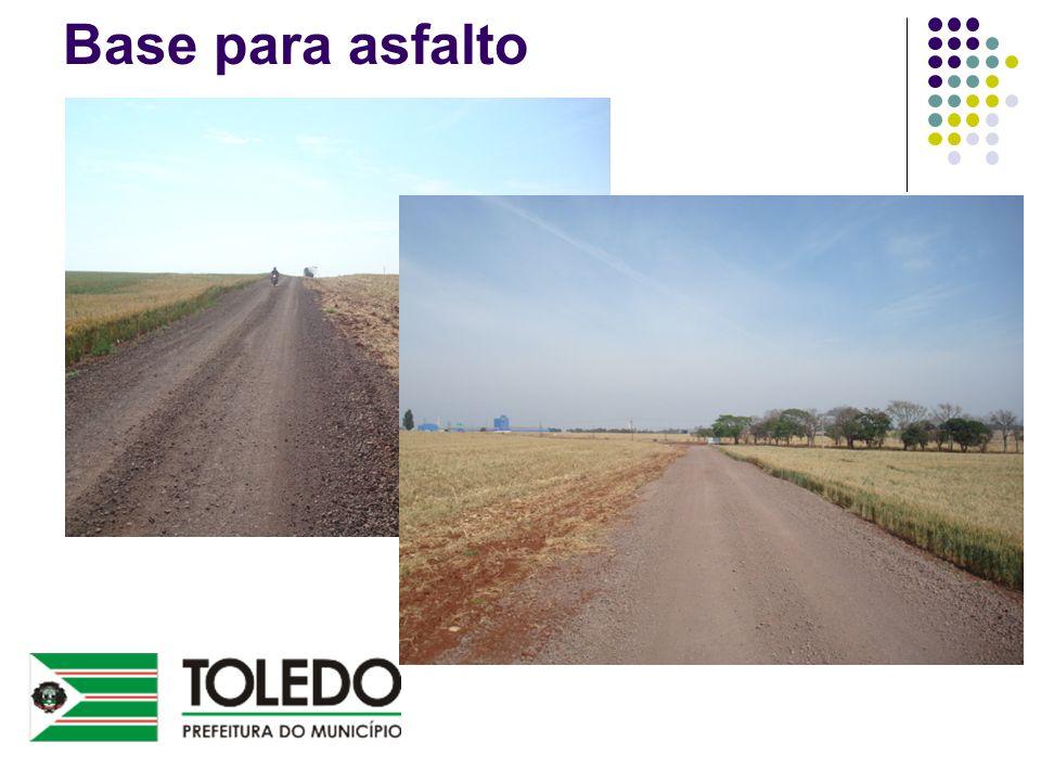 Base para asfalto
