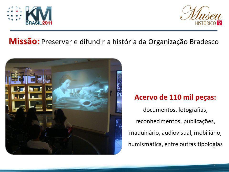 A Fundação Bradesco 40 Escolas em todo o Brasil Escola Virtual Centro Educacional Instituto de Tecnologia Museu Histórico Bradesco 646 mil atendimentos em 2010 Previsão de investimentos de R$ 307,9 milhões em 2011 4
