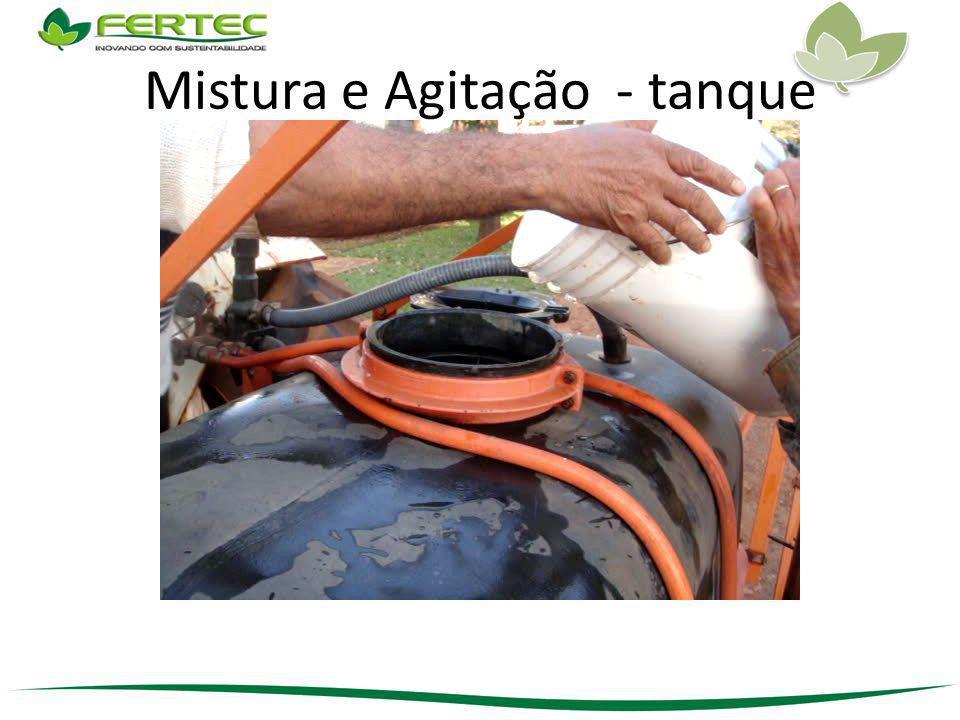 Mistura e Agitação - tanque