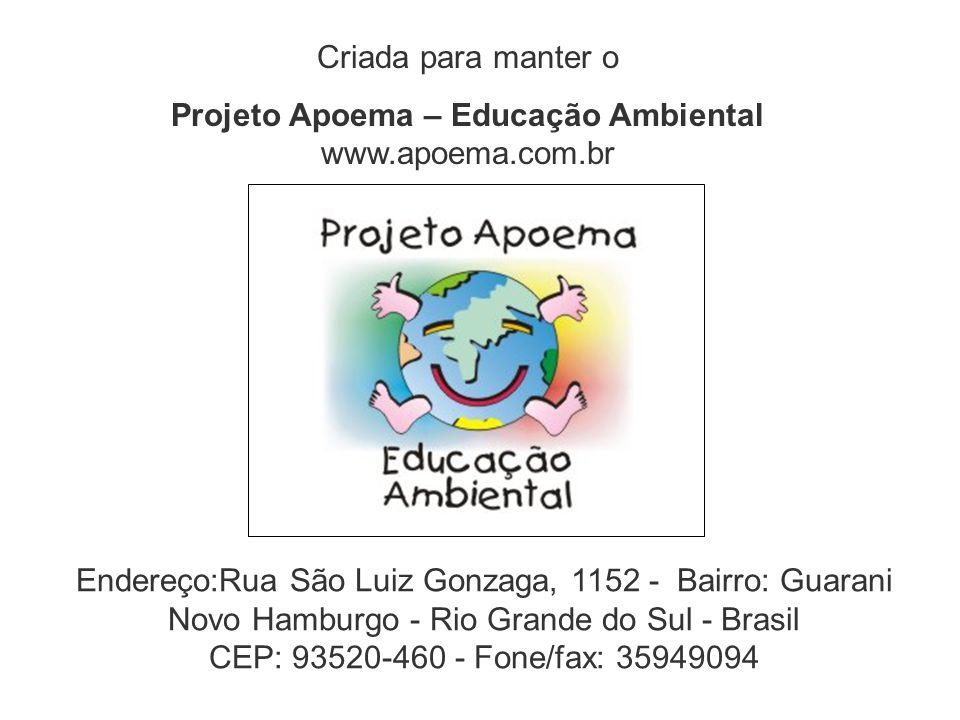 Endereço:Rua São Luiz Gonzaga, 1152 - Bairro: Guarani Novo Hamburgo - Rio Grande do Sul - Brasil CEP: 93520-460 - Fone/fax: 35949094 Criada para mante