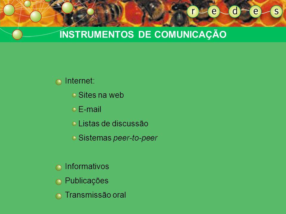 GESTÃO DA INFORMAÇÃO O princípio orientador de uma gestão da informação em rede deve ser compatível com o caráter descentrado da rede: a comunicação n
