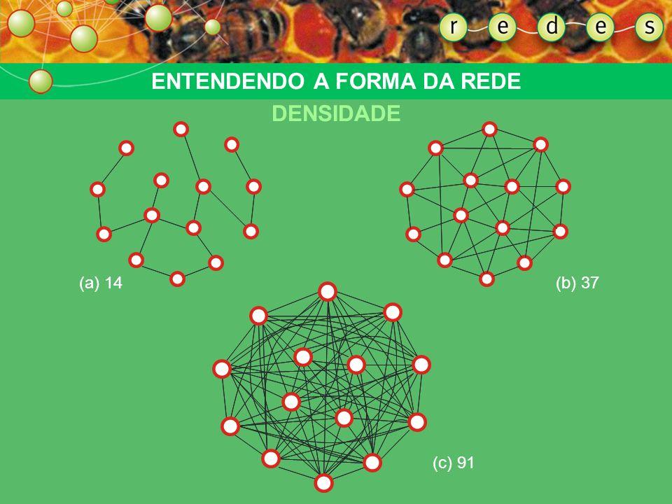 91 linhas ENTENDENDO A FORMA DA REDE DENSIDADE