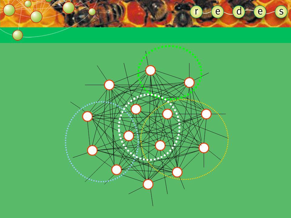 ENTENDENDO A FORMA DA REDE MULTIDIMENSIONALIDADE Uma rede pode ter muitos níveis, camadas, círculos, dimensões. Redes não têm centro, portanto também