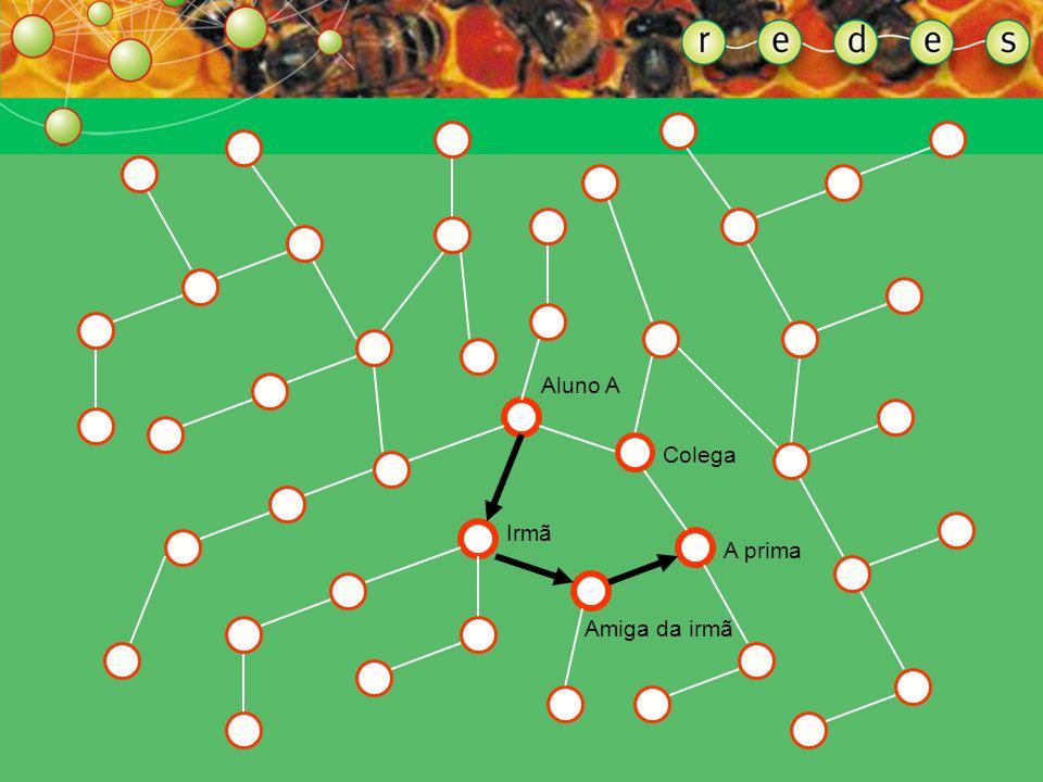 ENTENDENDO A FORMA DA REDE MULTIPLICIDADE DE CAMINHOS Uma das vantagens da rede é a existência de múltiplos caminhos. A multiplicidade de caminhos no