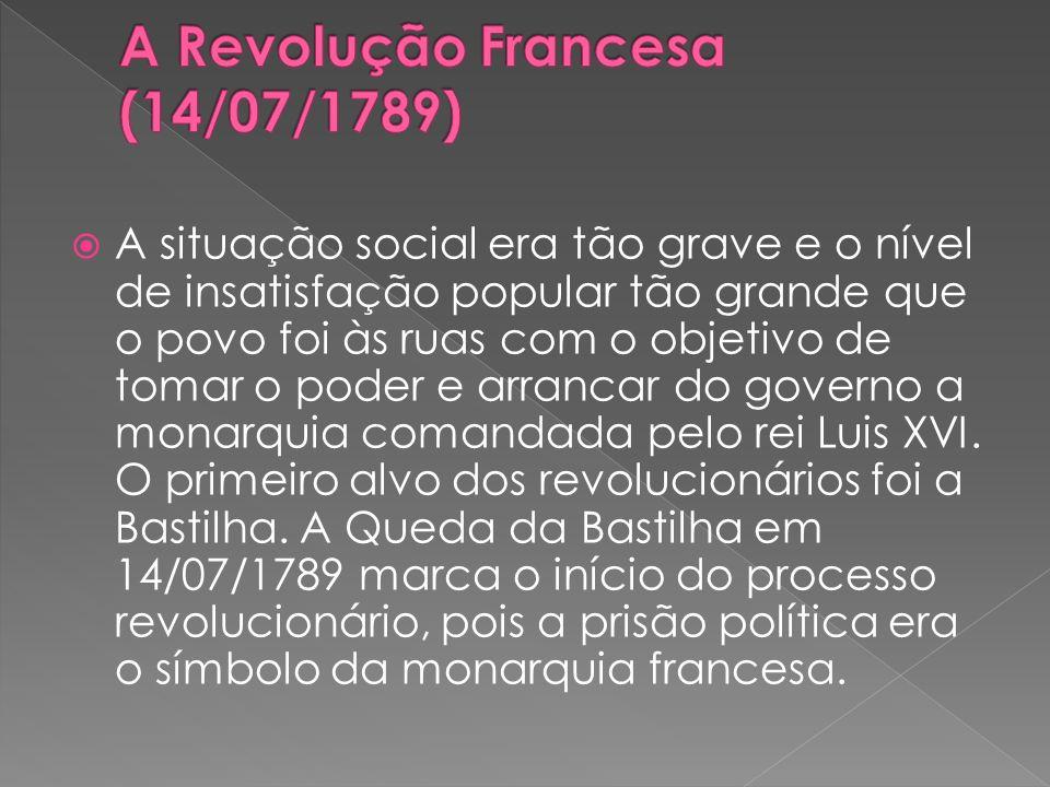 A situação social era tão grave e o nível de insatisfação popular tão grande que o povo foi às ruas com o objetivo de tomar o poder e arrancar do gove