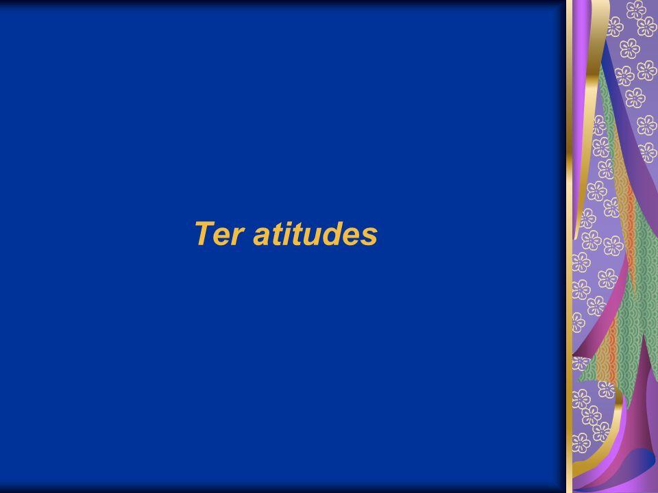 Ter atitudes