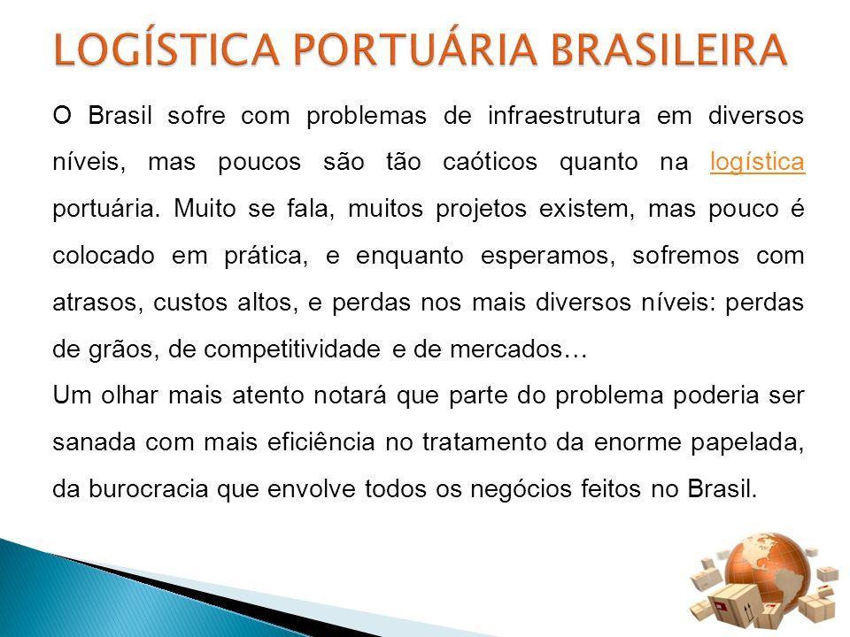 O Brasil sofre com problemas de infraestrutura em diversos níveis, mas poucos são tão caóticos quanto na logística portuária. Muito se fala, muitos pr