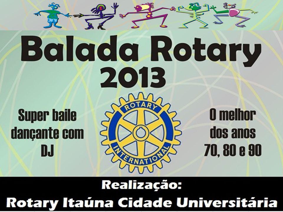 Os eventos que o Rotary Itaúna Cidade Universitária promove, como o passeio ciclistico e o bingo-baile, levantam recursos para ajudar entidades na cidade e no mundo inteiro através das doações para a Fundação Rotária.