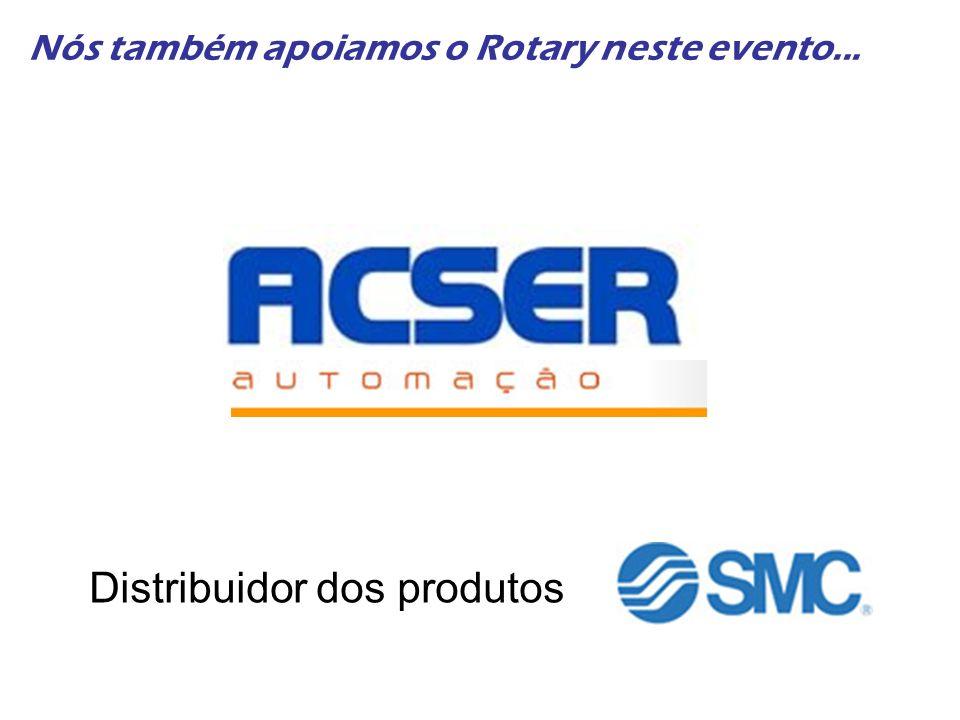 Nós também apoiamos o Rotary neste evento... Distribuidor dos produtos