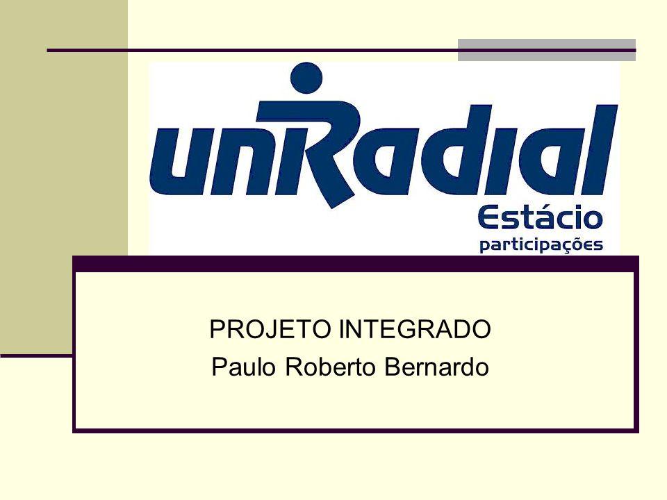 PROJETO INTEGRADO Paulo Roberto Bernardo