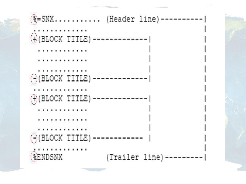 Combinação inter-técnicas Softwares: Bernese, Globak, GIPSY- Oasis II, GeoLab, entre outros. RNAACs Soluções individuais (coordenadas e velocidades):