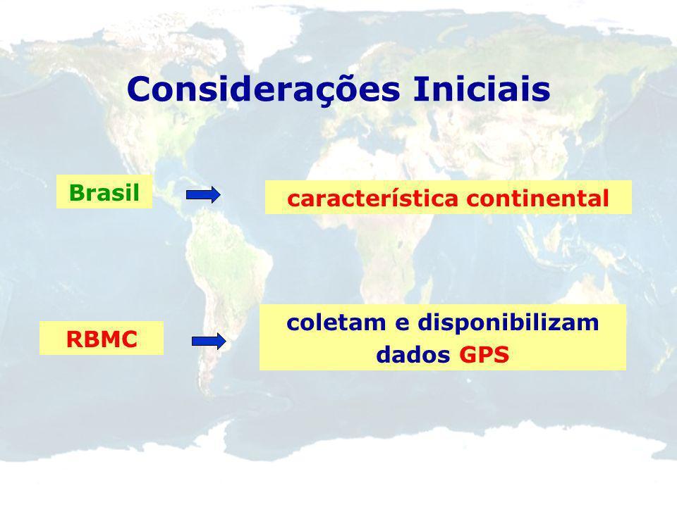 Considerações Iniciais IERS 2001 Potencialidade da combinação inter-técnicas SINEX (Solution Independent Exchange Format) Solução mais consistente