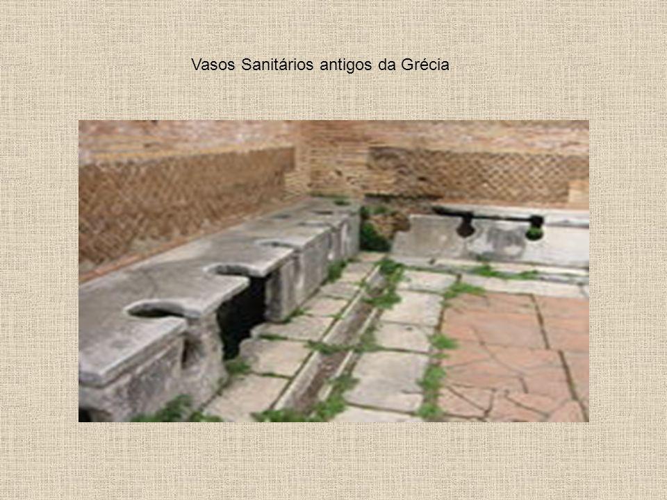 Vasos Sanitários antigos da Grécia