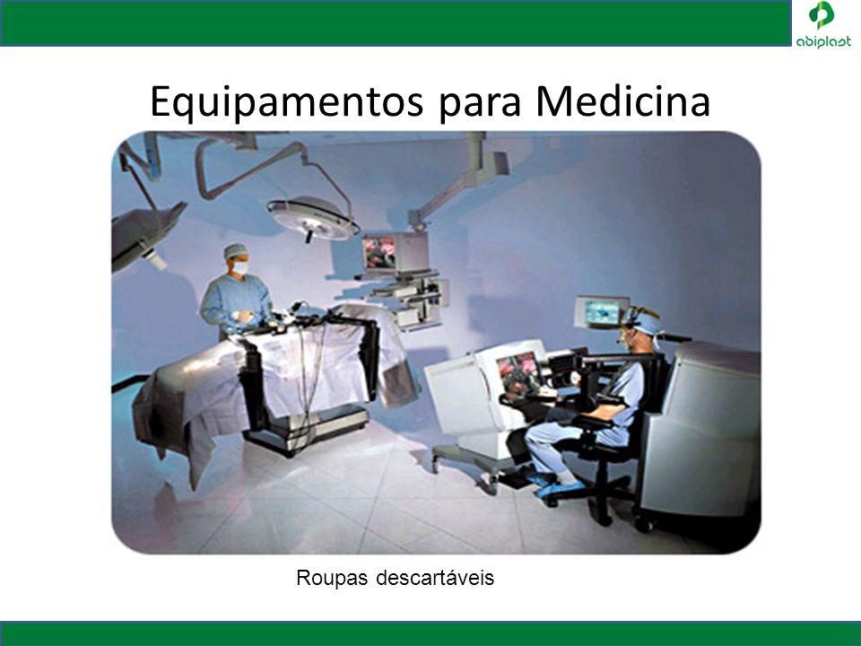 Equipamentos para Medicina Roupas descartáveis