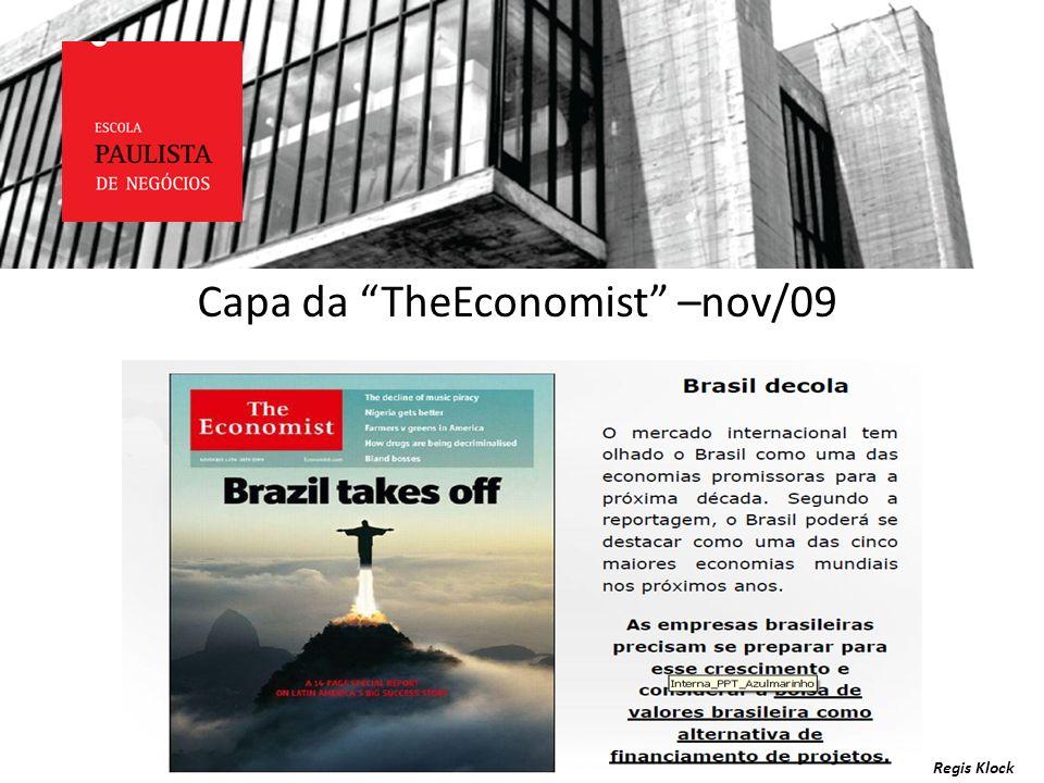 Capa da TheEconomist –nov/09 Regis Klock