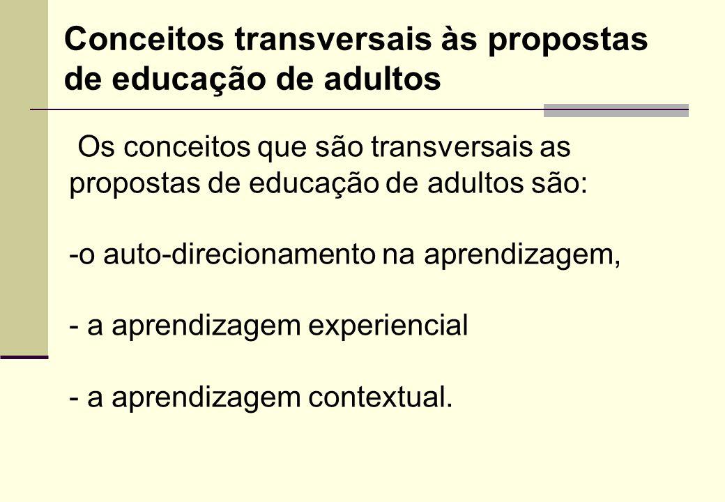 A educação e formação de adultos entendida numa perspectiva de responsabilidade social parte do pressuposto de que, por meio da participação, os adult