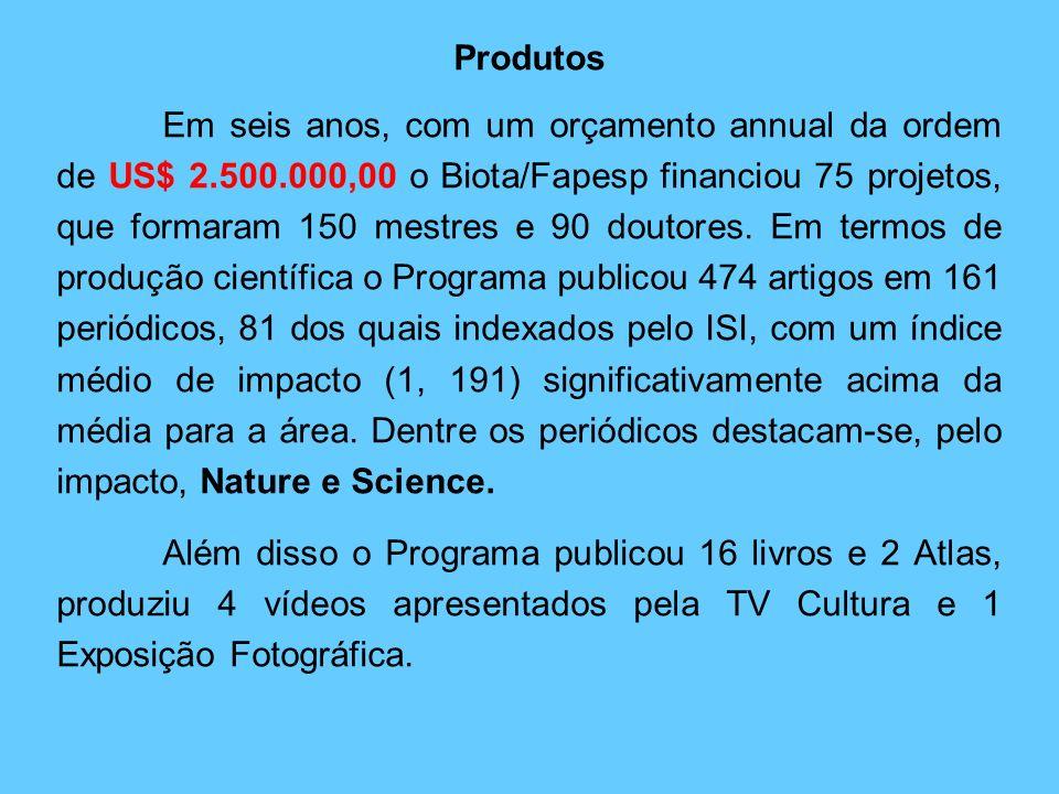 BIOprospecTA Finalmente, em 2002 o Programa BIOTA/FAPESP criou o Subprograma BIOprospecTA visando identificar biomoléculas com efetivo potencial de us