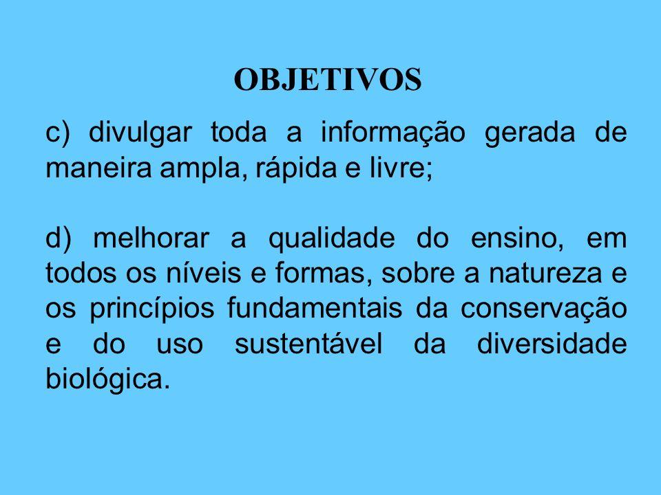 O objetivo comum dos projetos vinculados ao BIOTA-FAPESP é estudar a biodiversidade do Estado de São Paulo visando: a) compreender os processos gerado