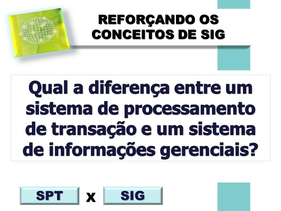 REFORÇANDO OS CONCEITOS DE SIG SPT SIG X