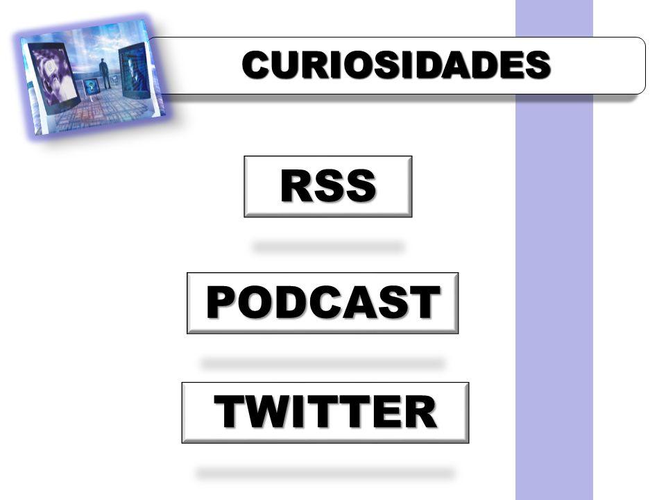 CURIOSIDADESCURIOSIDADES RSS PODCAST TWITTER