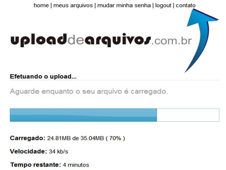 DICA SIG UPLOAD DE ARQUIVOS Rapidshare Megaupload Easyshare Uploaddearquivos