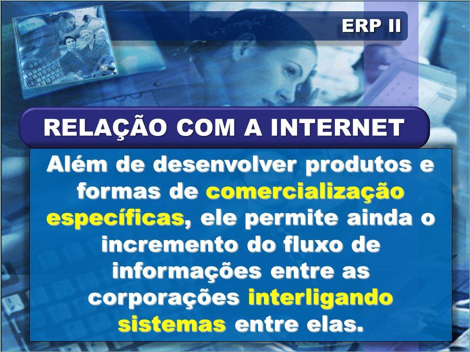 ERP II Quebram-se algumas barreiras e é tênue a linha entre as ações internas e externas.