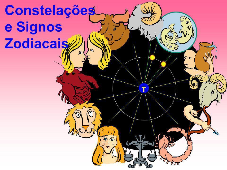 Constelações e Signos Zodiacais T