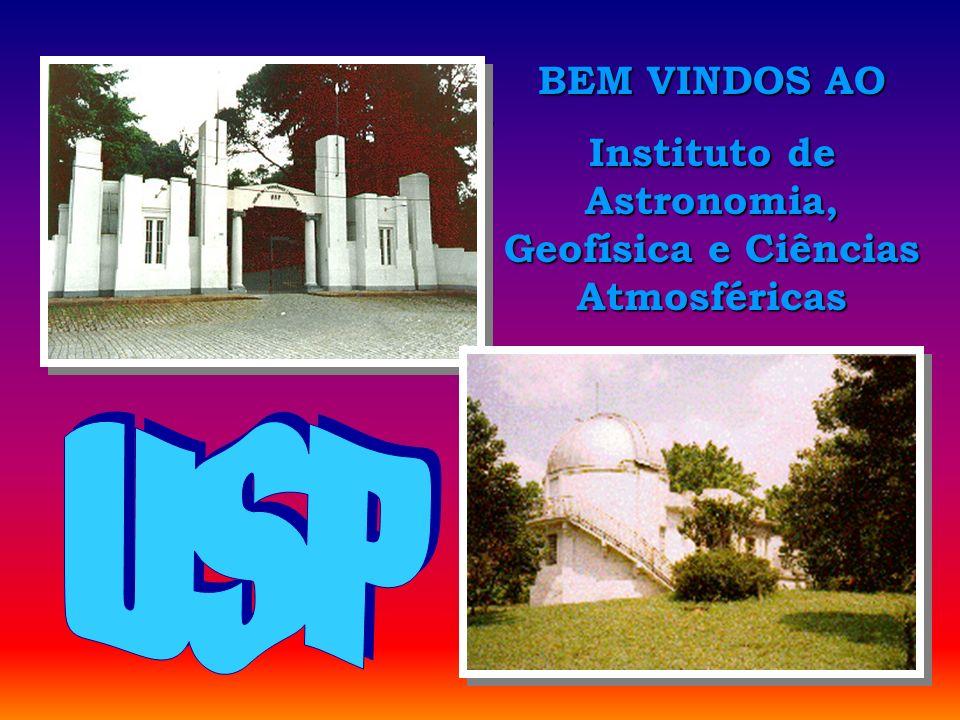 Abertura BEM VINDOS AO Instituto de Astronomia, Geofísica e Ciências Atmosféricas