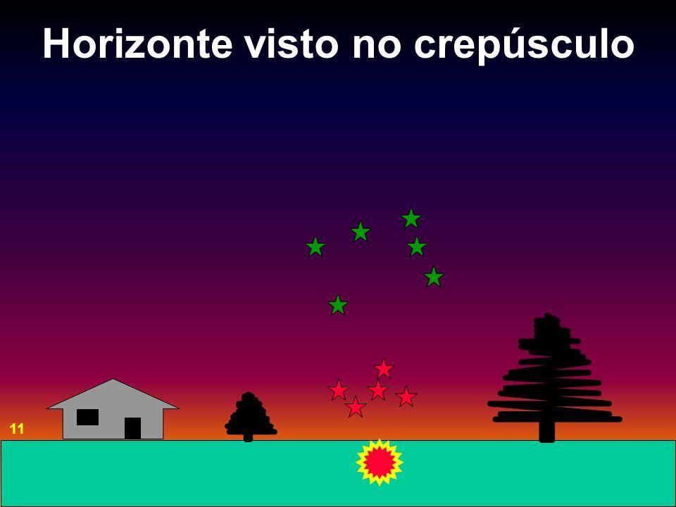 Horizonte visto no crepúsculo 11
