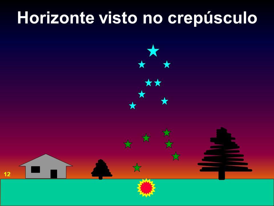 Horizonte visto no crepúsculo 12