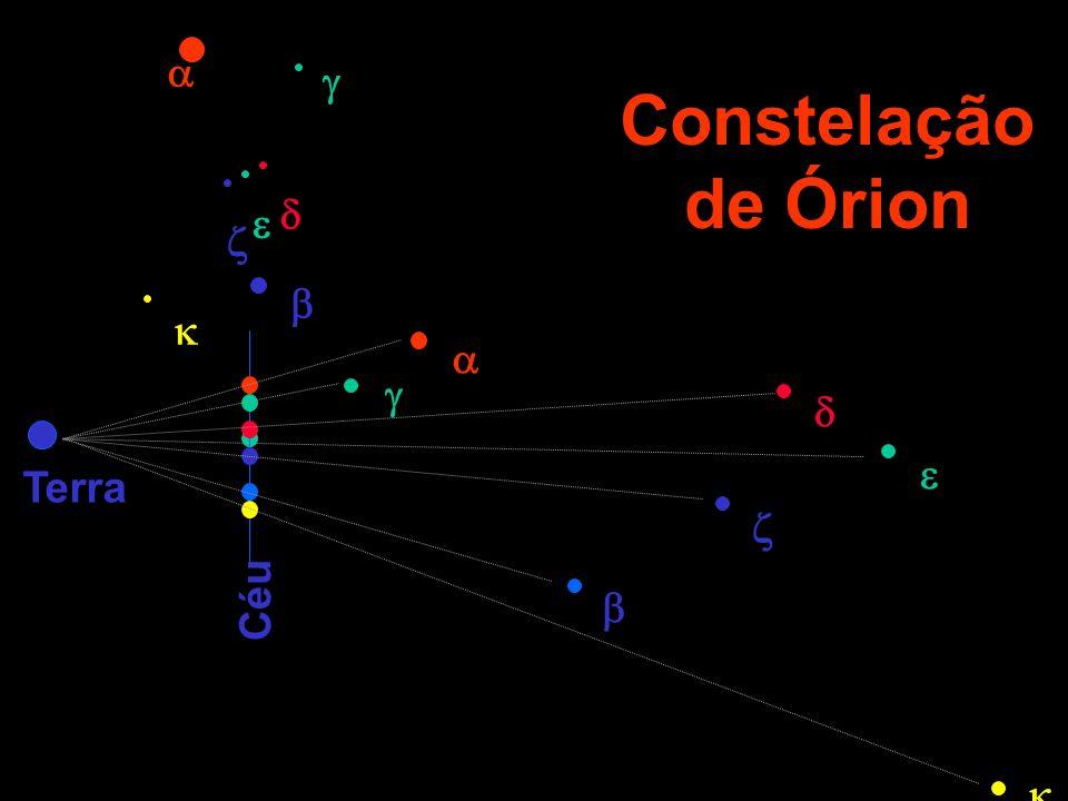 Constelação de Órion Terra Céu