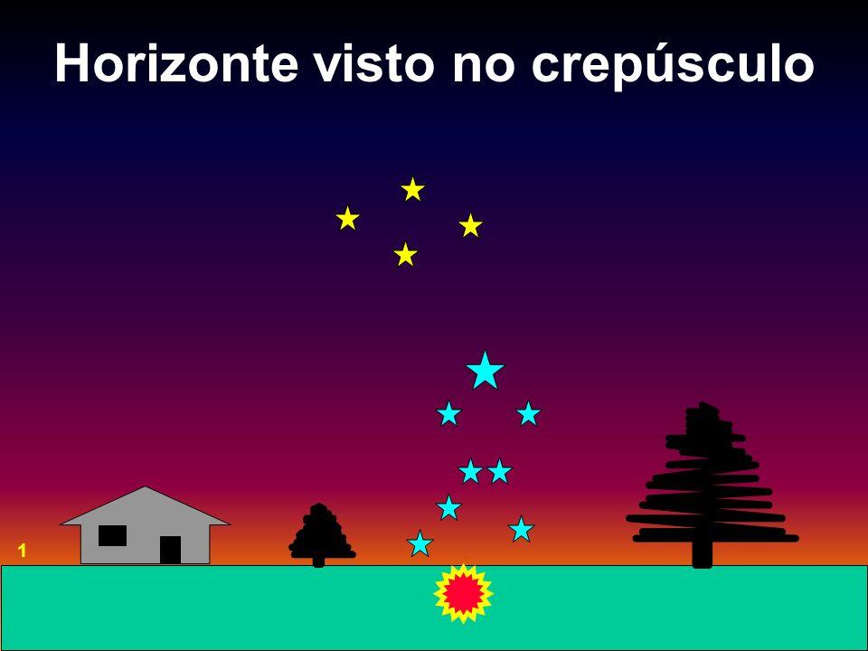 Horizonte visto no crepúsculo 1