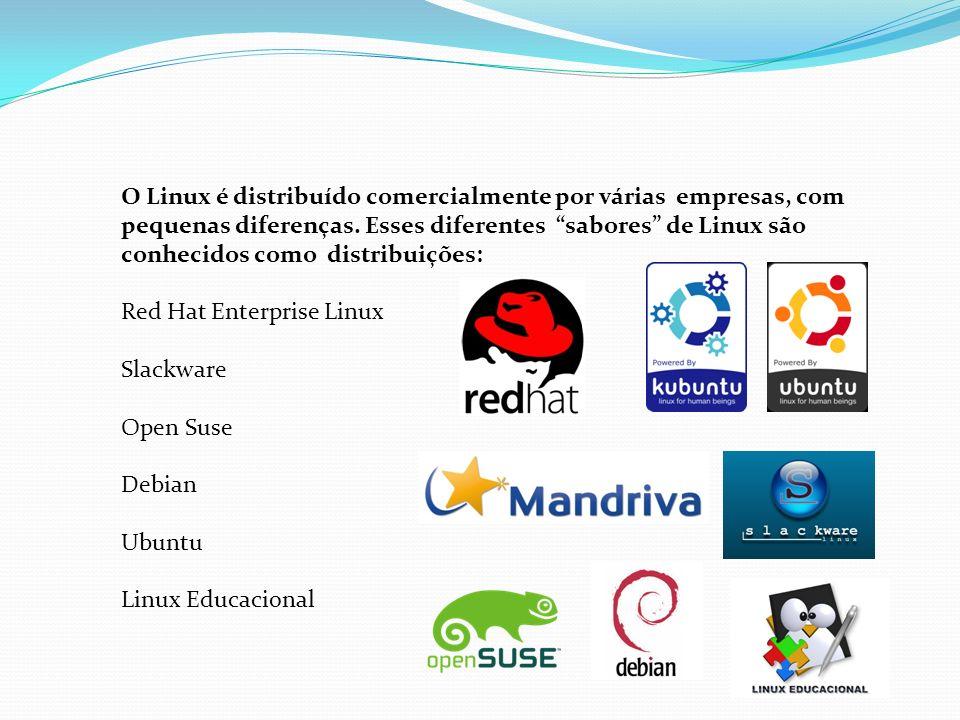O Linux é distribuído comercialmente por várias empresas, com pequenas diferenças. Esses diferentes sabores de Linux são conhecidos como distribuições