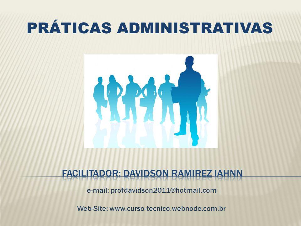Tema inicial: Fundamentação Teórica Conceitos de Administração.