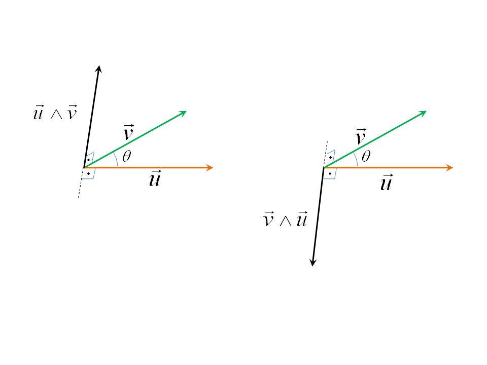 Exemplo 2: Sejam e Determine o produto vetorial