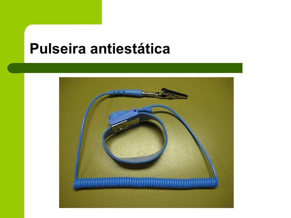 Pulseira antiestática